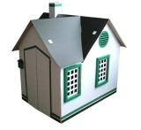 Paper Emulational House