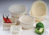 1. 100% Biodegradable and Compostable tableware, made of corn starch